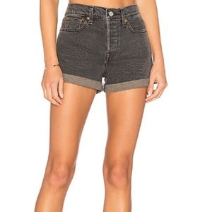 Levi's Wedgie Fit High Waist Shorts
